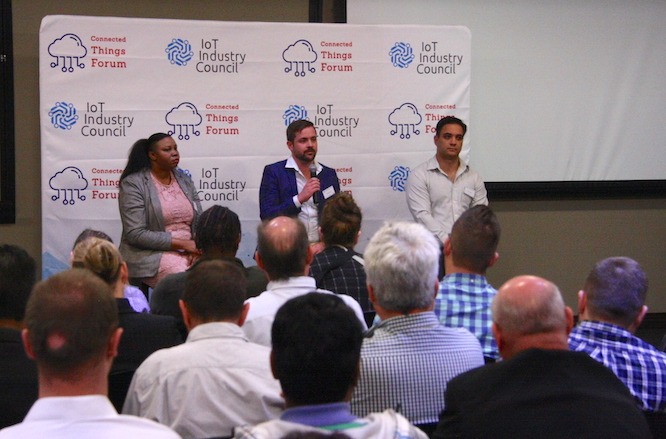 Our panel of speakers together giving analyst, government and enterprise their views on the future of IOT in South Africa.